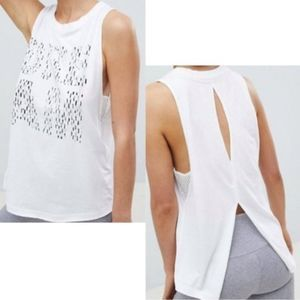 Free People Tops - Free People Movement DREAM White Tank - L
